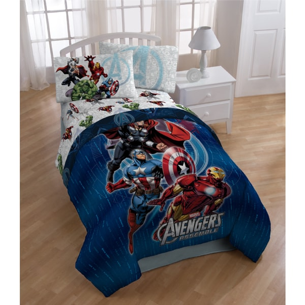Marvel Avengers Assemble Bedding Set Free Shipping Today
