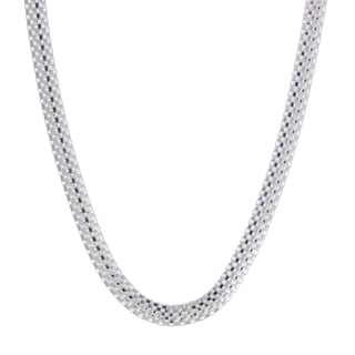 Sterling Silver 8mm Popcorn Chain