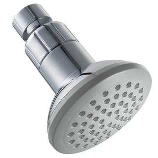 Schon One-spray 3.35-inch Chrome LED Showerhead