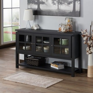 Gracewood Hollow Nesbit Contemporary Buffet Table