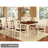 Furniture of America Bethannie Cottage Style 2-Tone Dining Table ...