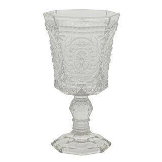 10 Strawberry Street Vatican 8-ounce Clear Goblet (Set of 6)