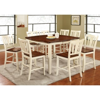 Furniture of America Betsy Jane Country Style Counter Height Dining Table