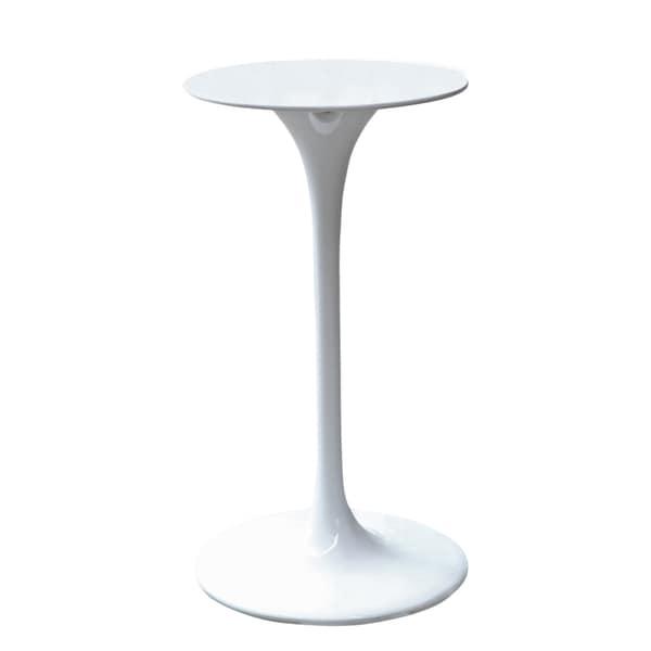 White Flower Bar Table