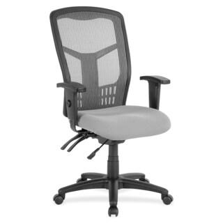 Lorell Ergomesh Seating Exec Mesh High-back Chair