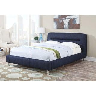 Adney Blue Denim Queen Bed