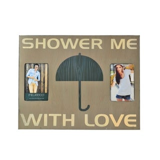 Melannco 'Shower Me With Love' Collage Picture Frame