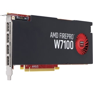 HP FirePro W7100 Graphic Card - 8 GB GDDR5 - PCI Express 3.0 x16 - Fu