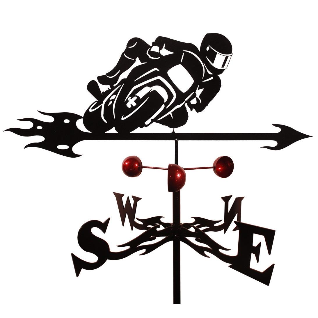Swen Farrell Sports Bike Steel Weathervane (Roof Mount), ...