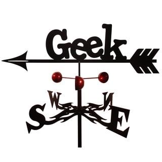 Handmade Computer Geek Steel Weathervane