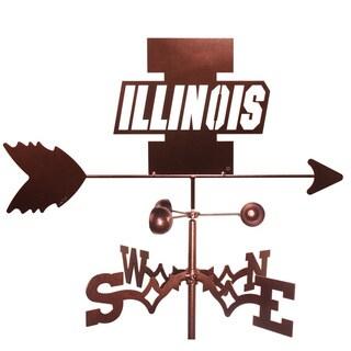 Illinois Illini Weathervane