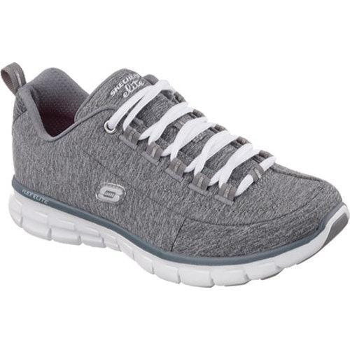 68e70b680bd6 Shop Women s Skechers Synergy Spot On Gray - Free Shipping Today -  Overstock - 9934737