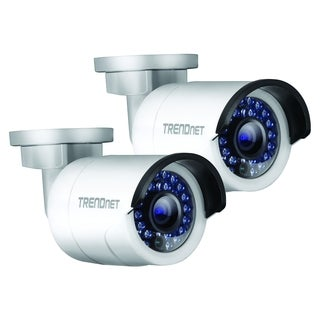 TRENDnet TV-IP320PI2K 1.3 Megapixel Network Camera - 2 Pack - Color -