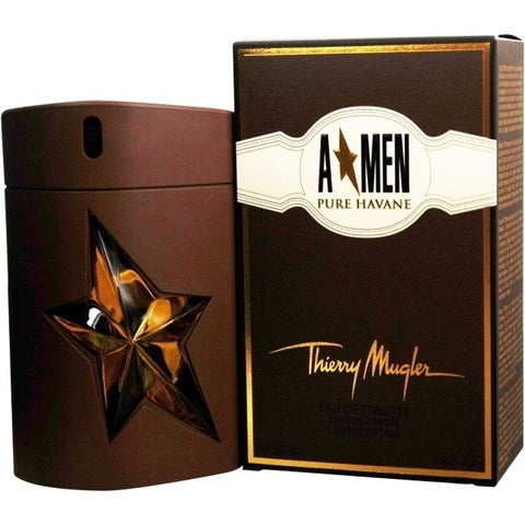 Thierry Mugler Angel Pure Havane Men's 3.4-ounce Eau de Toilette Spray (Limited Edition)