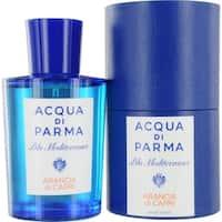 Acqua Di Parma Blue Mediterraneo Men's 5-ounce Arancia Di Capri Eau de Toilette Spray
