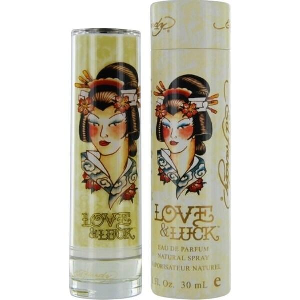 Shop Christian Audigier Ed Hardy Love & Luck Womens 1-ounce Eau De Parfum Spray