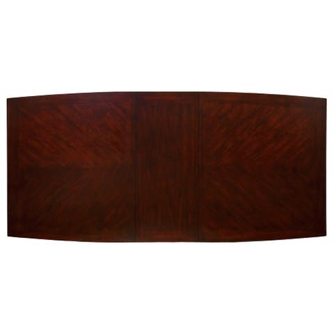 Furniture of America Jell Contemporary Cherry 90-inch Dining Table