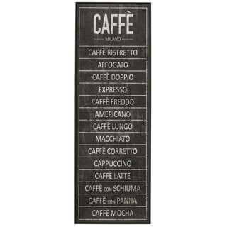 'Caffe' Framed Giclee Print Wall Art