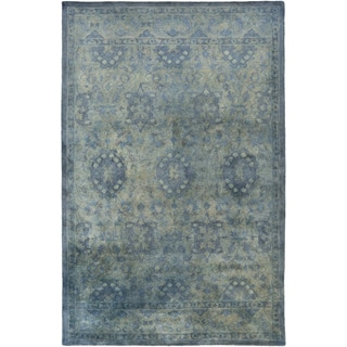 Hand-Tufted Lomond Damask Wool Area Rug