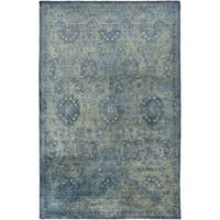 Hand-Tufted Lomond Damask Wool Area Rug (5' x 8')