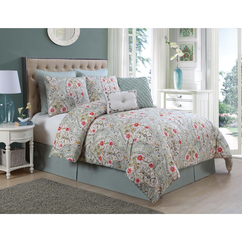 VCNY-Evangeline-8-piece-Comforter-Set thumbnail 9