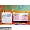 Mikaila Ariel Crib and Changer Set