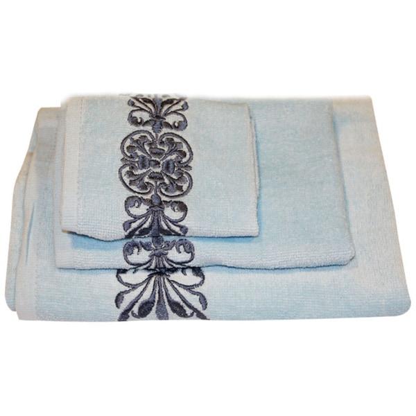 Beautiful Regalia Cotton 3-piece Bath Towel Set