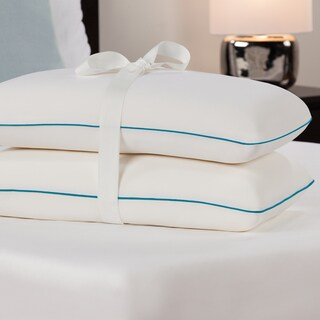Comfort Memories Molded Memory Foam Pillow (Set of 2)