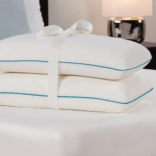 comfort memories molded memory foam pillow set of 2