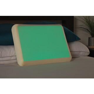 Comfort Memories Glow in the Dark Gel and Memory Foam Pillow