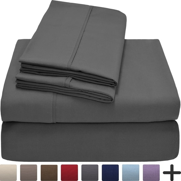 Premium Ultra-Soft Microfiber Full XL Sheet Set