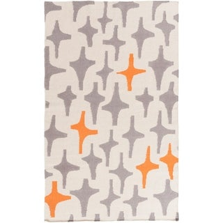 Hand-Woven Dianne Abstract Wool Rug (3'3 x 5'3)