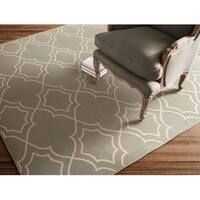 Tom Moroccan Trellis Area Rug (7'3 Square) - 7' x 7'