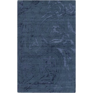 Hand-Tufted Morley Abstract Pattern Indoor Rug (5' x 8')