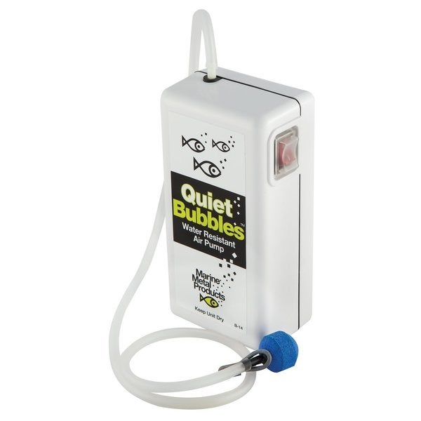 Marine Metal Aerator Quiet Bubbles Water Resistant Air Pump