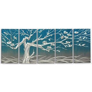 Metal Artscape 'Winter Morning' Metal Wall Art