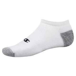 Champion Double Dry Performance Men's No-Show Socks (Pack of 6)