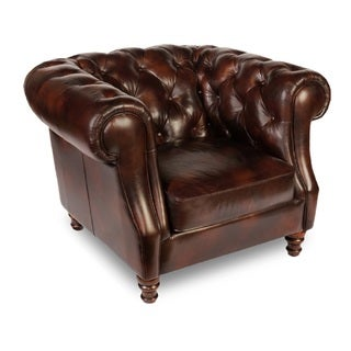 Lazzaro Beaufort Leather Chair