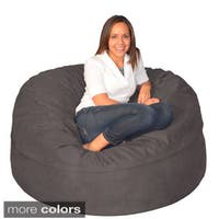 Clay Alder Home Green Bridge Large Memory Foam Bean Bag 5-foot Foam Chair
