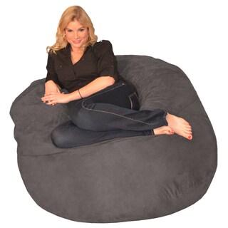 Clay Alder Home Green Bridge Memory Foam Bean Bag 4-foot Chair