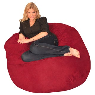 Porch & Den Green Bridge Memory Foam Bean Bag 4-foot Chair