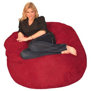 Memory Foam Bean Bag 4-foot Chair