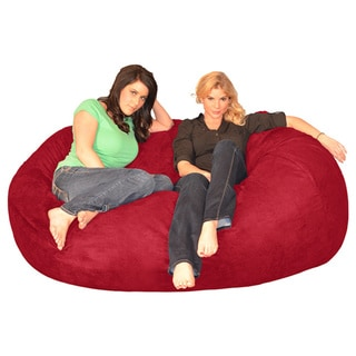 6-foot Memory Foam Bean Bag Lounger