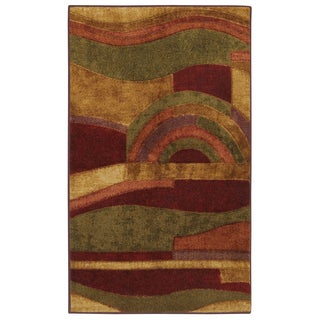 Mohawk Home New Wave Picasso Wine (2'6 x 3'10)