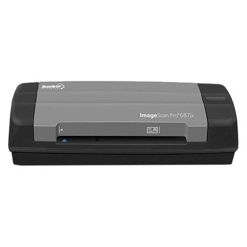 Ambir ImageScan Pro 687ix Sheetfed Scanner - 600 dpi Optical