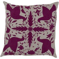Decorative Calvert 22-inch Poly or Feather Down Filled Throw Pillow