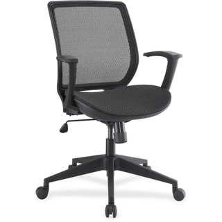 Lorell Mesh/Mesh Executive Mid-back Chair