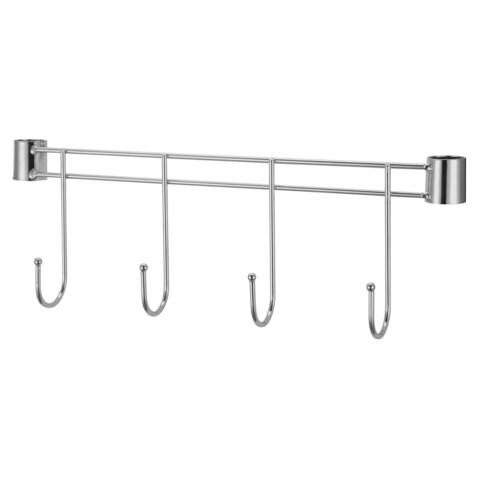 "Lorell Industrial Wire Shelving 18"" Hook Rack"
