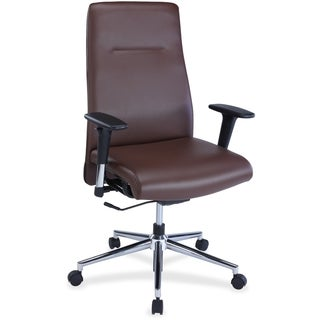 Lorell Leather Suspension Chair