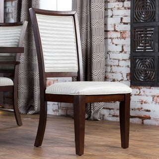 Furniture of America Redora Contemporary Espresso Dining Chair (Set of 2)